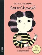 Cover Coco Chanel aus der Little People, Big Dreams-Reihe